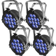 Chauvet SlimPAR Pro H USB RGBAW+UV Wash Light 4-Pack