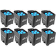 Chauvet Freedom Par Tri-6 RGB Battery-Powered Wireless Wash Light 8-Pack