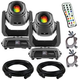 Chauvet Intimidator Spot 375Z IRC Moving Head 2-pack w/ Accessories & Remote