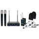 VocoPro Digital 32 Ultra Dual Channel Wireless Mic Combo System