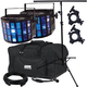 Chauvet Mini Kinta IRC Effect Light 2-Pack w/ Stand, Accessories & Gator Bag