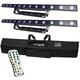 Chauvet COLORband T3 USB Wash Bar Light 2-Pack w/ Remote & Soft Case