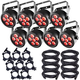 Chauvet SlimPAR T6 USB RGB LED Par 8-Pack w/ Accessories