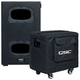 QSC KS112 2000W 12-Inch Compact Powered Subwoofer w/ Padded Cover