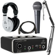 Behringer U-Phoria UM2 Podcast Bundle w/ HPM1000 Headphones