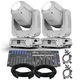 Chauvet Intimidator Spot 375Z IRC White Moving Head 2-pack w/ DMX Controller