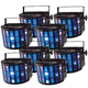 Chauvet Mini Kinta IRC 3W LED Derby Light 8-Pack
