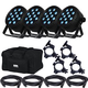 Blizzard LB PAR Quad RGBW 4-Pack w/ Accessories & Gator Bags