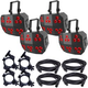 Chauvet Wash FX2 LED Light x4 w/ Cables & Clamps