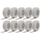 "PRO White Gaffers Stage Tape 10-Pack 2"" x 55Yds"