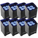 Chauvet Freedom Par Quad 4 IP Battery-Powered Wireless Wash 8-Pack