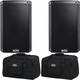 Alto TS310 10-Inch 2000w Powered Speakers w/ Totes