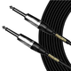 Mogami CorePlus Right Angle to Straight Instrument Cable 10Ft