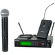 Shure SLX Dual Wireless Mic with WL185 & SM58 H19
