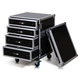 Road Ready RRD14U1C 14U Rack W/Storage Drawers   *