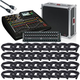 Behringer X32 Compact Digital Mixer Large Touring Package