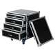 Road Ready RRD12UC 12U Rack With Storage Drawers *