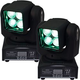 ColorKey Mover Beam 4 Zoom Mini Moving Head 2-Pack