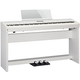 Roland FP-60-WHC Portable Digital Piano w/ Stand in White