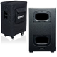 QSC KS212C Cardioid 3600W Powered Subwoofer w/ Soft Cover