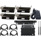 Shure BLX 4-Channel Complete Wireless Handheld Mic Package