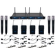 Vocopro UDH 4 Ultra 4-Channel UHF Wireless Mic System