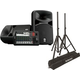 Yamaha Stagepas-600BT 680W Portable PA Speaker System w/ Stands