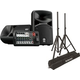 Yamaha Stagepas 400BT 400W Portable PA Speaker System w/ Stands