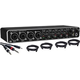 Behringer UMC 404HD USB Audio Interface w/ Cables
