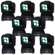 ColorKey Mover Beam 4 Zoom Mini Moving Head 8-Pack