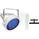 Chauvet SlimPAR 56 RGB LED Wash Light (White) w/ Shield & Floor Stand