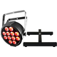 Chauvet SlimPAR Q12 BT RGBA LED Wash Light w/ Floor Stand