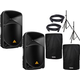 Behringer B115W 15-Inch Powered Speaker Pair w/ Stands & Covers