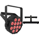 Chauvet SlimPAR T12 BT RGB LED Bluetooth Par Light w/ Floor Stand