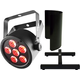 Chauvet SlimPAR T6 USB RGB LED Par Light w/ Shield & Floor Stand