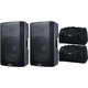 Alto TX215 15-Inch Powered Speaker Pair w/ Gator Totes