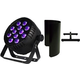 Blizzard LB Par Hex RGBAW+UV LED Light w/ Shield & Floor Stand