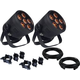 Blizzard LB Hex Unplugged 2-Pack w/ Clamps & Cables