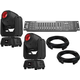Chauvet Intimidator Spot 260 Moving Head 2-Pack w/ DMX Controller