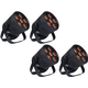 Blizzard LB Hex Unplugged Battery-Powered LED 4-Pack