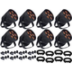 Blizzard LB Hex Unplugged Battery-Powered LED Wash 8-Pack w/ Accessories