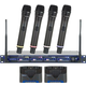 VocoPro UHF-5805 4 Channel UHF Wireless Mic System