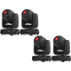 Chauvet Intimidator Spot 360 LED Moving Head 4-Pack