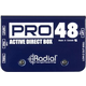 Radial Pro48 48V Phantom Powered Active DI