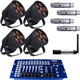 Blizzard LB Hex Unplugged Wireless Control 4-Pack