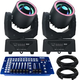 Blizzard Hypno Spot Moving Head 2-Pack with DMX Controller
