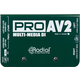 Radial ProAV2 Passive 2-Channel Multimedia DI