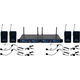 VocoPro UDH-PLAY 4 UHF Wireless Microphone Package