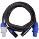 Blizzard 6 Foot PowerCon & 5-Pin DMX Combo Cable