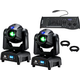 ADJ American DJ Focus Spot One 2-Pack with DMX Controller